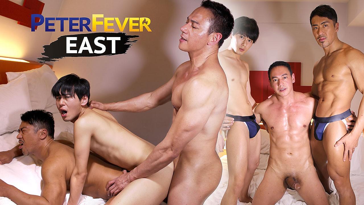 PeterFever – Three's Cumpany – Fuji, Musashi and Ryuji